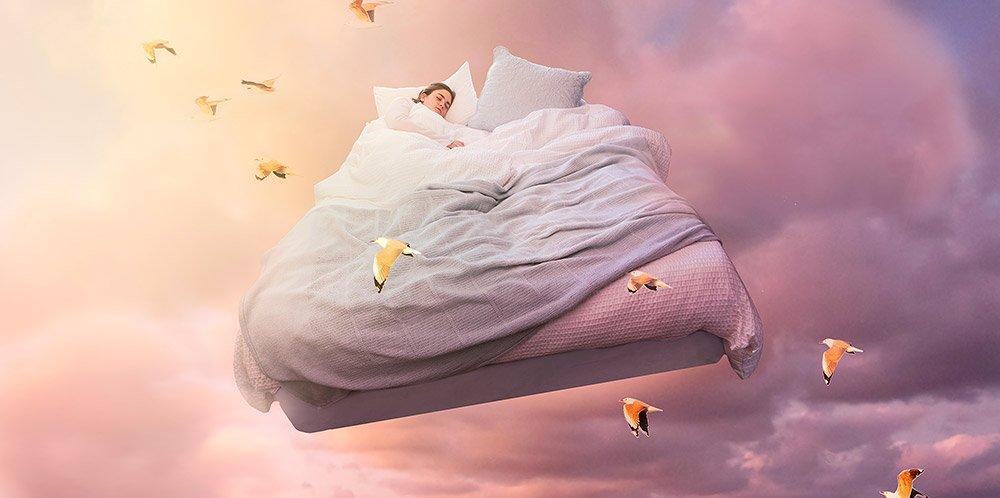 Beim Träumen tauchen wir in eine fremde Welt ein. Aber warum träumen wir? Und wie? © CarlaMc/ iStock
