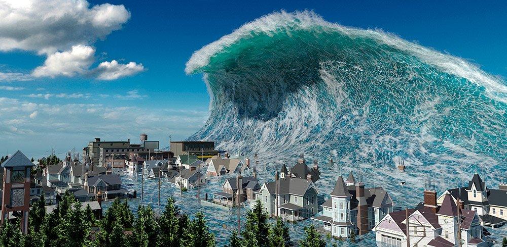 Wie hoch ist das Risiko für einen Tsunami im Mittelmeer? © Maxim Zhuravlev / iStock