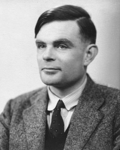 Portrait von Alan Turing