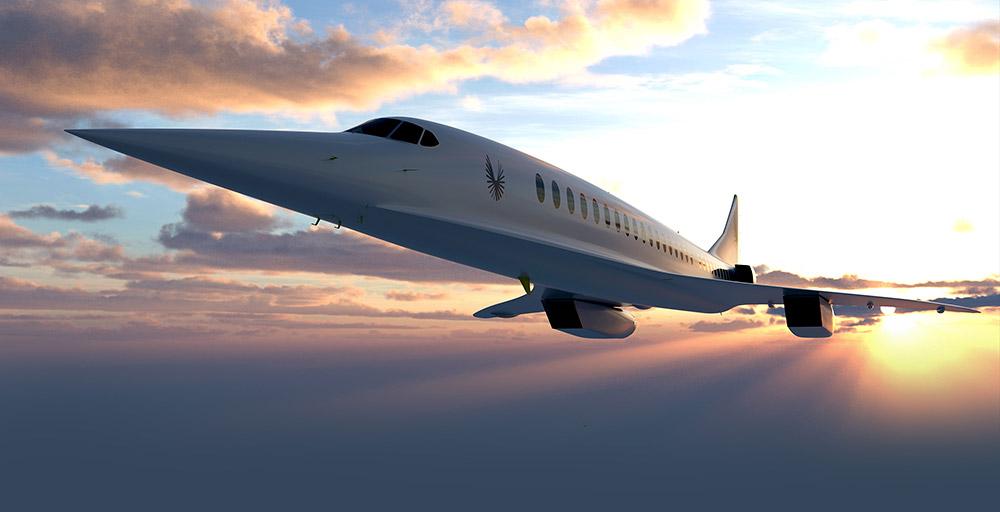 """Sie könnte ein Nachfolger der Concorde werden: """"Overture"""" von Boom Supersonic. © Boom Supersonic"""