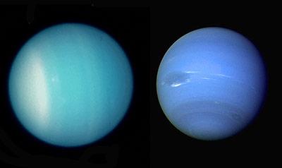 Rätselhafte Eisplaneten: Uranus und Neptun