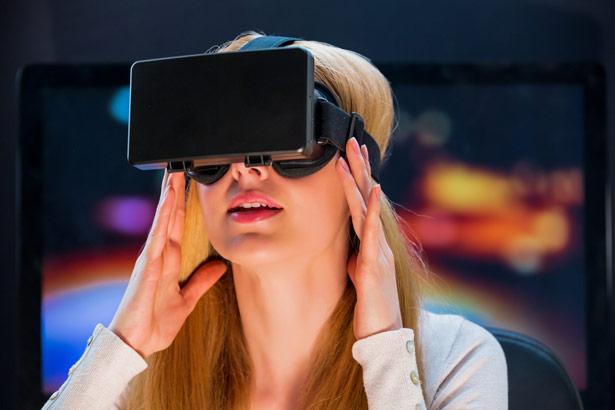 Mithilfe der computergenerierten Welt kann die Wahrnehmung verändert werden.