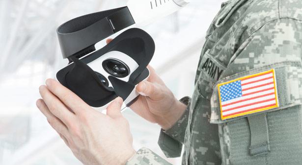 VR kann Soldaten mit posttraumatischen Belastungsstörungen helfen.