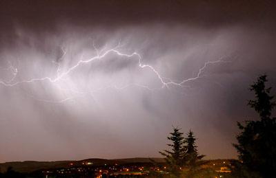 Im Zuge der Klimaerwärmung werden Extrem-Wetter Ereignisse immer häufiger werden.