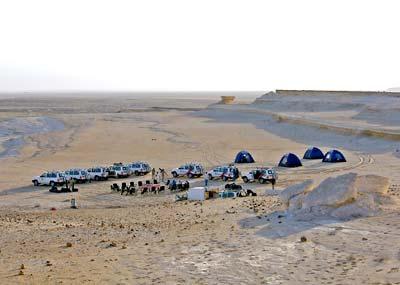 In der Wüste von Oman