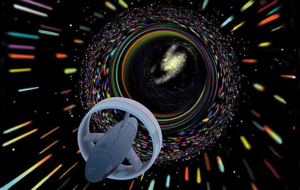 """<span class=""""img-caption"""">Ob es passierbare Wurmlöcher wirklich gibt, bleibt trotz aller theoretischen Überlegungen ungeklärt.</span> <span class=""""img-copyright"""">© NASA/ Les Bossinas (Cortez III Service Corp.)</span>"""