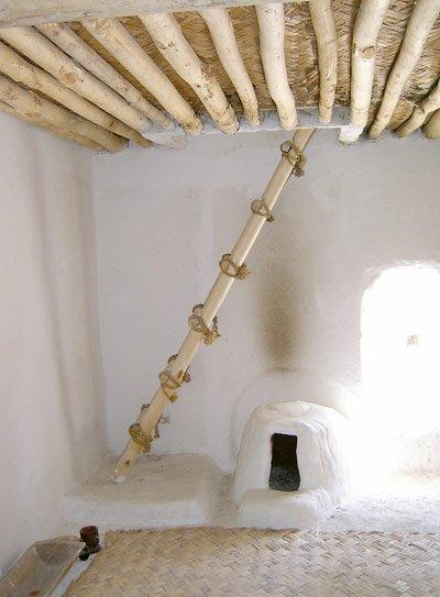 Rekonstruktion eines Gebäudes in Çatalhöyük