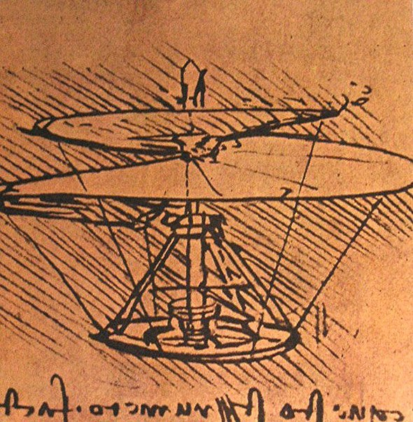 Leonardo Da Vinci Fliegen