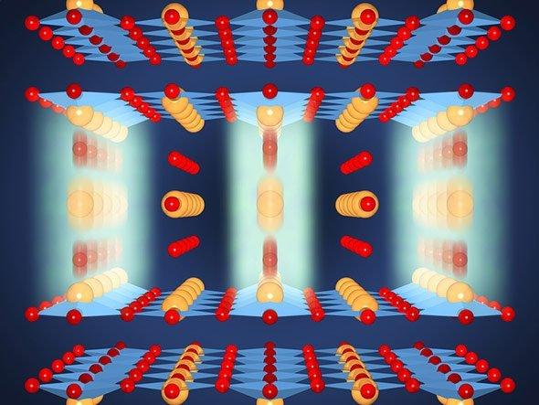 Laserpuls Hilft Elektronen Beim Durchtunneln Und Ermöglicht So