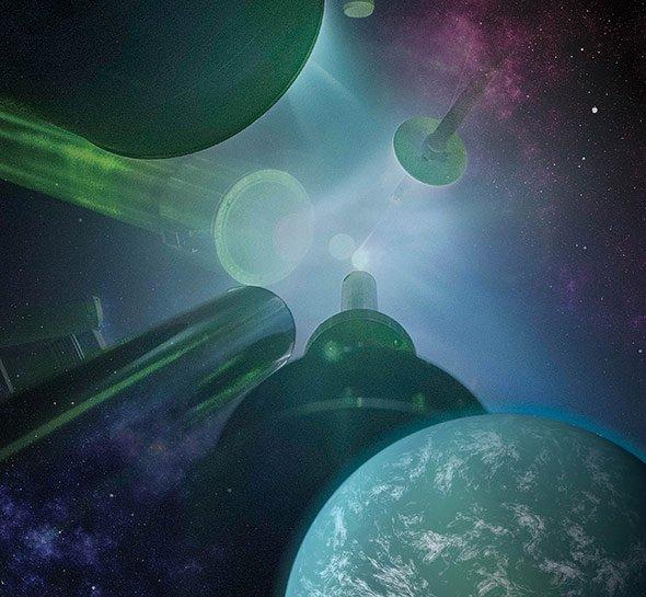 Innenleben von Planetenriesen im Labor