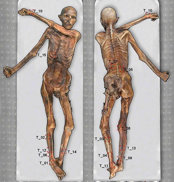 Menschen tattoo alte Tätowierung