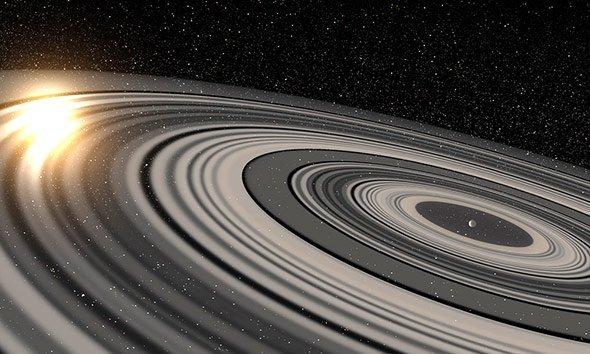 Exoplanet mit gigantischem Ringsystem entdeckt