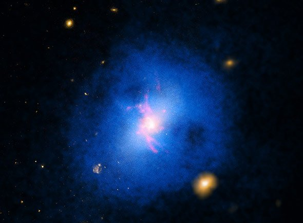 Galaxien Anzahl