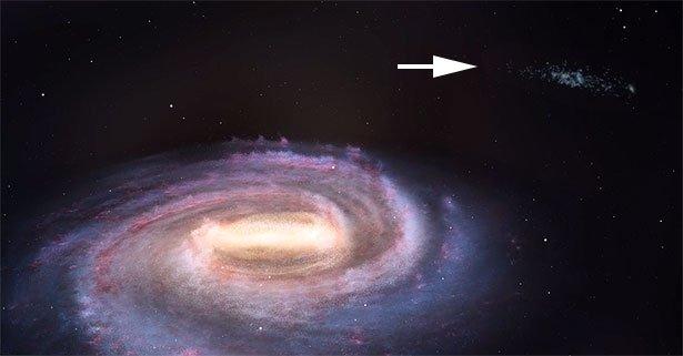 Neue Galaxie Entdeckt