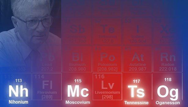 Offizielle Benennung für vier neuentdeckte Elemente des ...