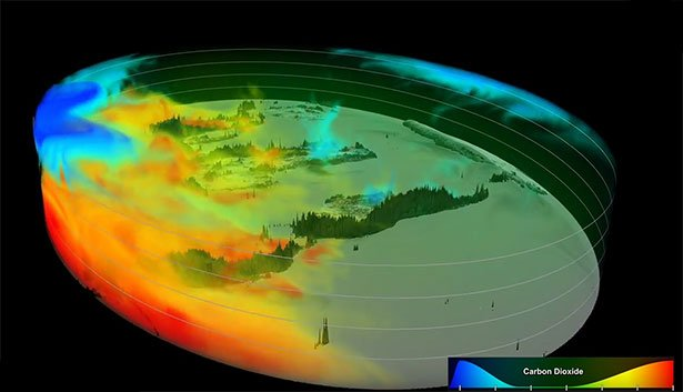 Neuer Blick auf das irdische CO2