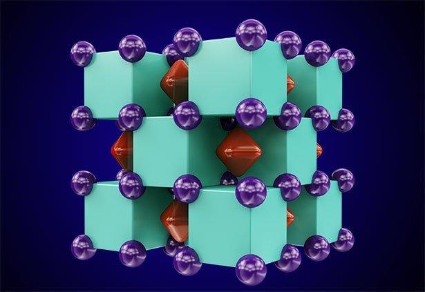 Natrium Und Helium Bilden Unter Hochdruck Einen Salzartigen