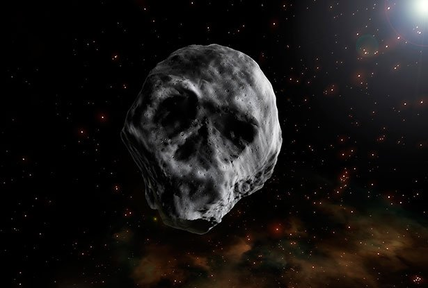 Erdbahnkreuzer Ist Dunkel Wie Kohle Und Könnte Ein Erloschener Komet