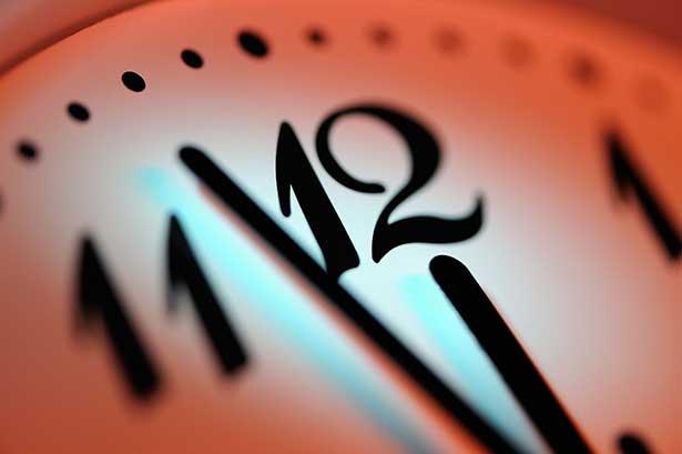 Weltungerangs-Uhr