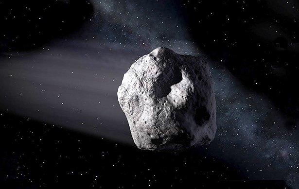 Testfall Für Die Asteroidenüberwachung Und Impakt Abwehr Der Erde