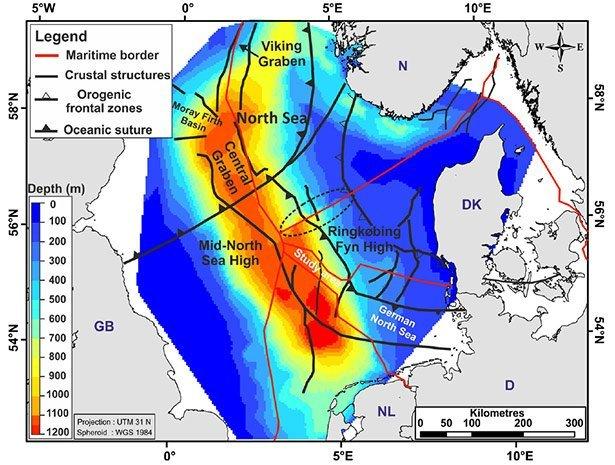 Das Becken Der Nordsee Ist Seit Beginn Des Eiszeitalters Um Gut