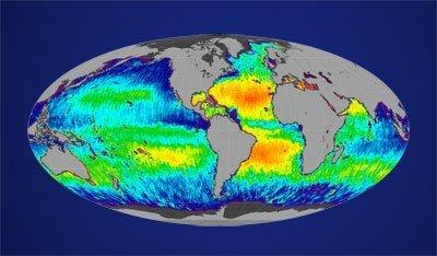 Salzgehalt Meere