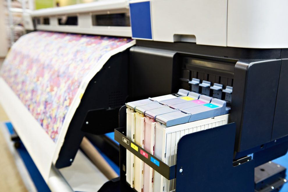 Farbdrucker für Stoff- und Papierdruck