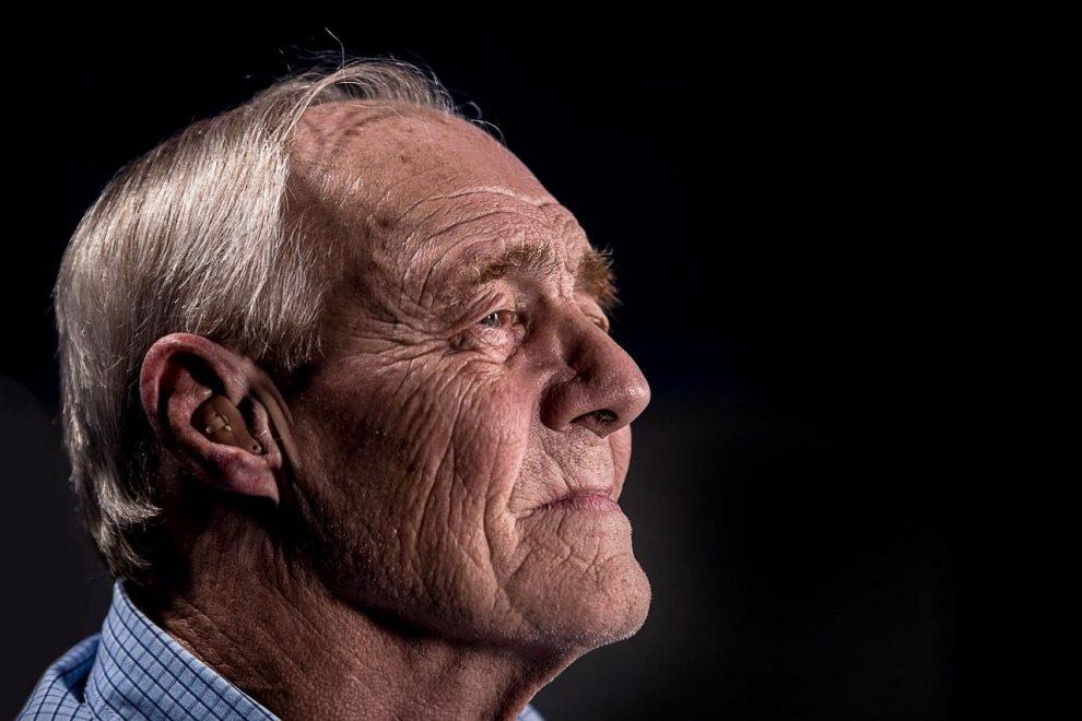 Alter weißer Mann