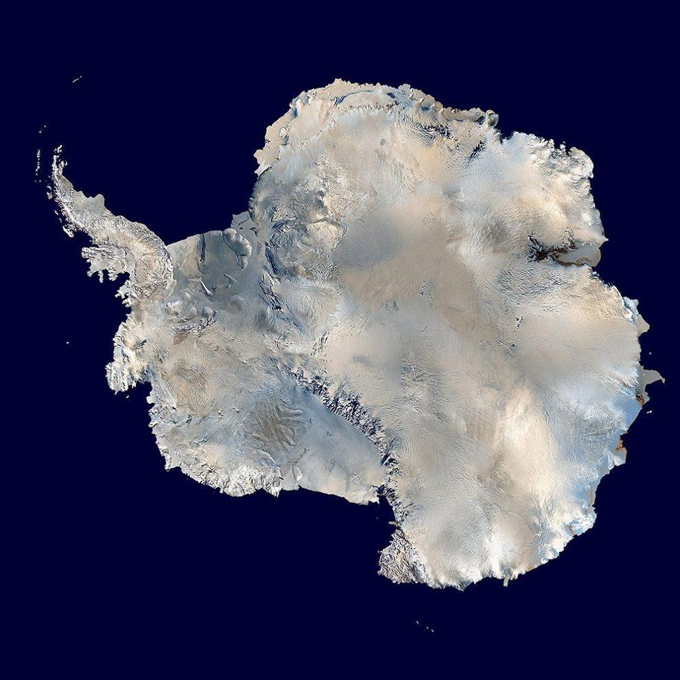 antarktis von oben