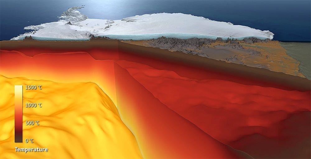 Antarktis-Kruste