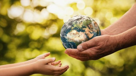 Mensch und Erde
