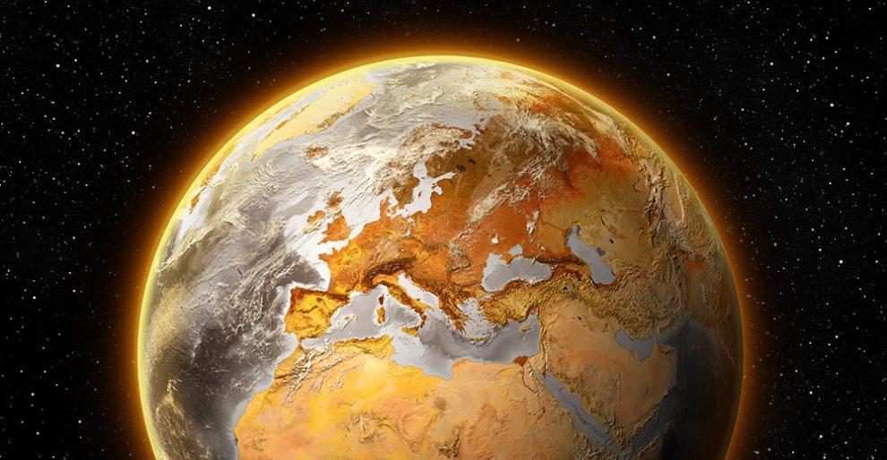 heiße Erde