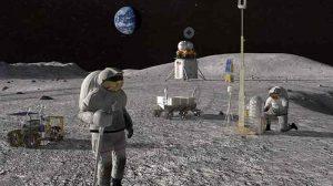 Mond-Astronauten