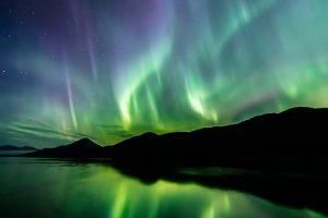 Aurora über Alaska