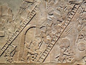 Assyrische Soldaten
