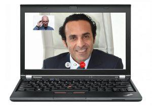 Symbolbild Videokonferenz