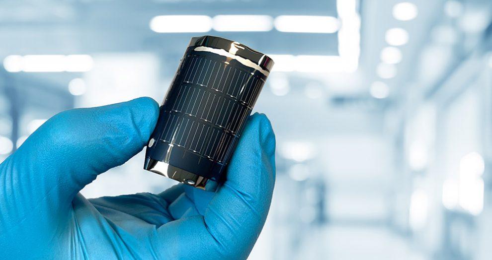 Dünnschicht-Solarzelle