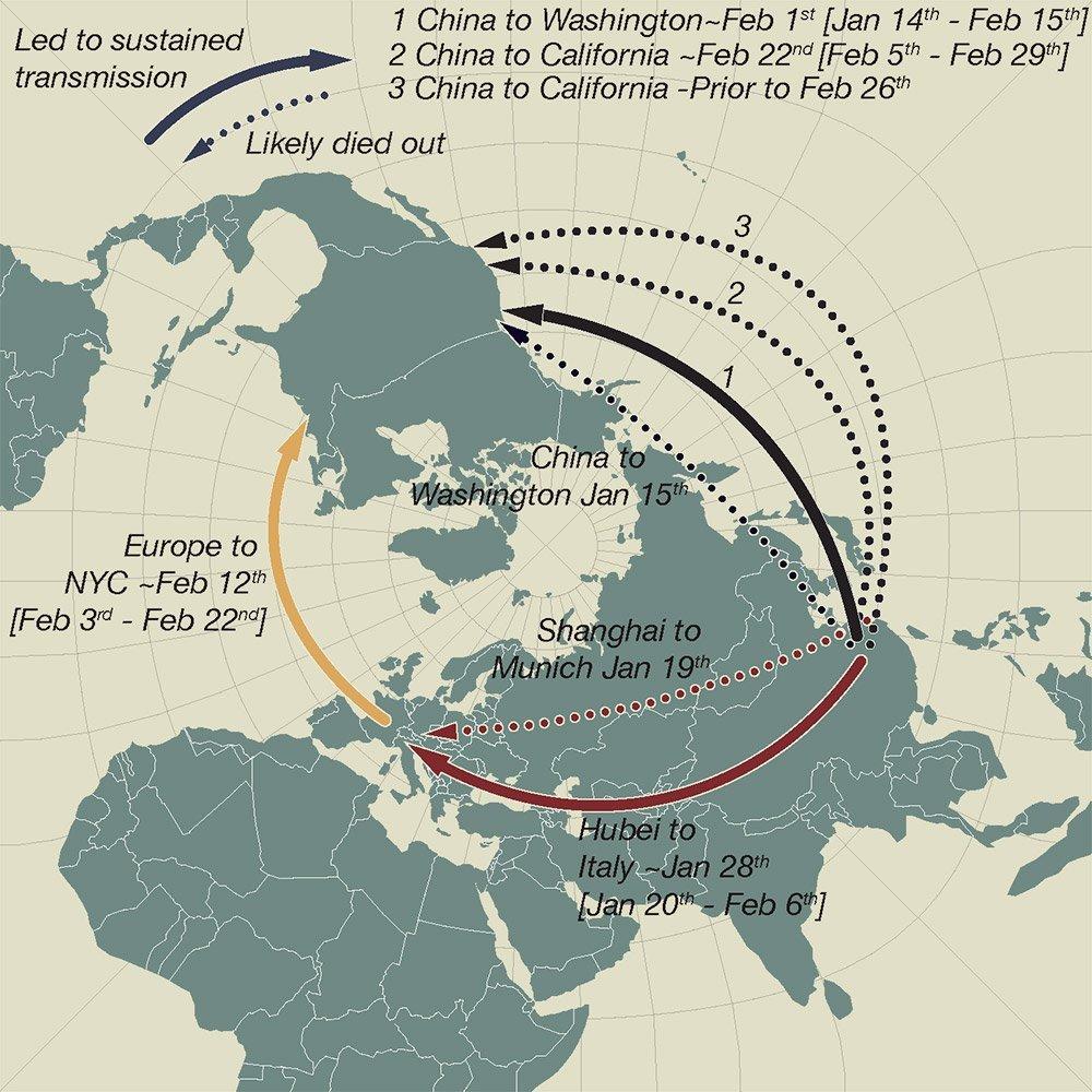 Corona War Map