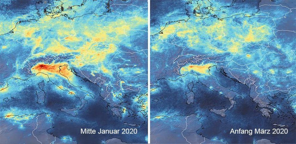 Emissionen Europa