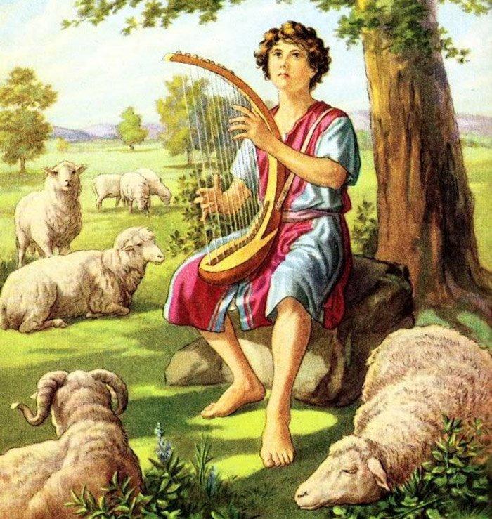 David als Hirte