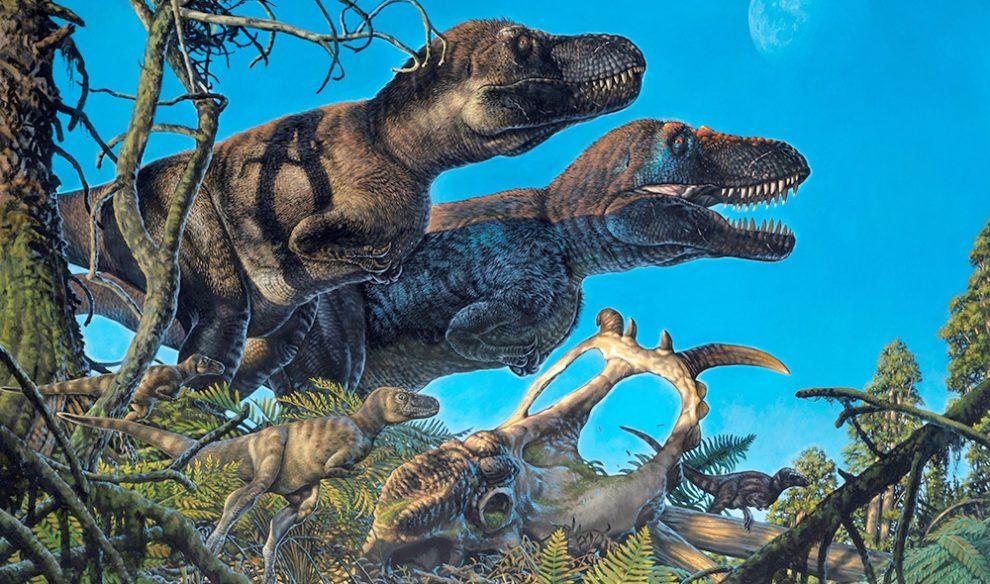 Arktische Tyrannosaurier