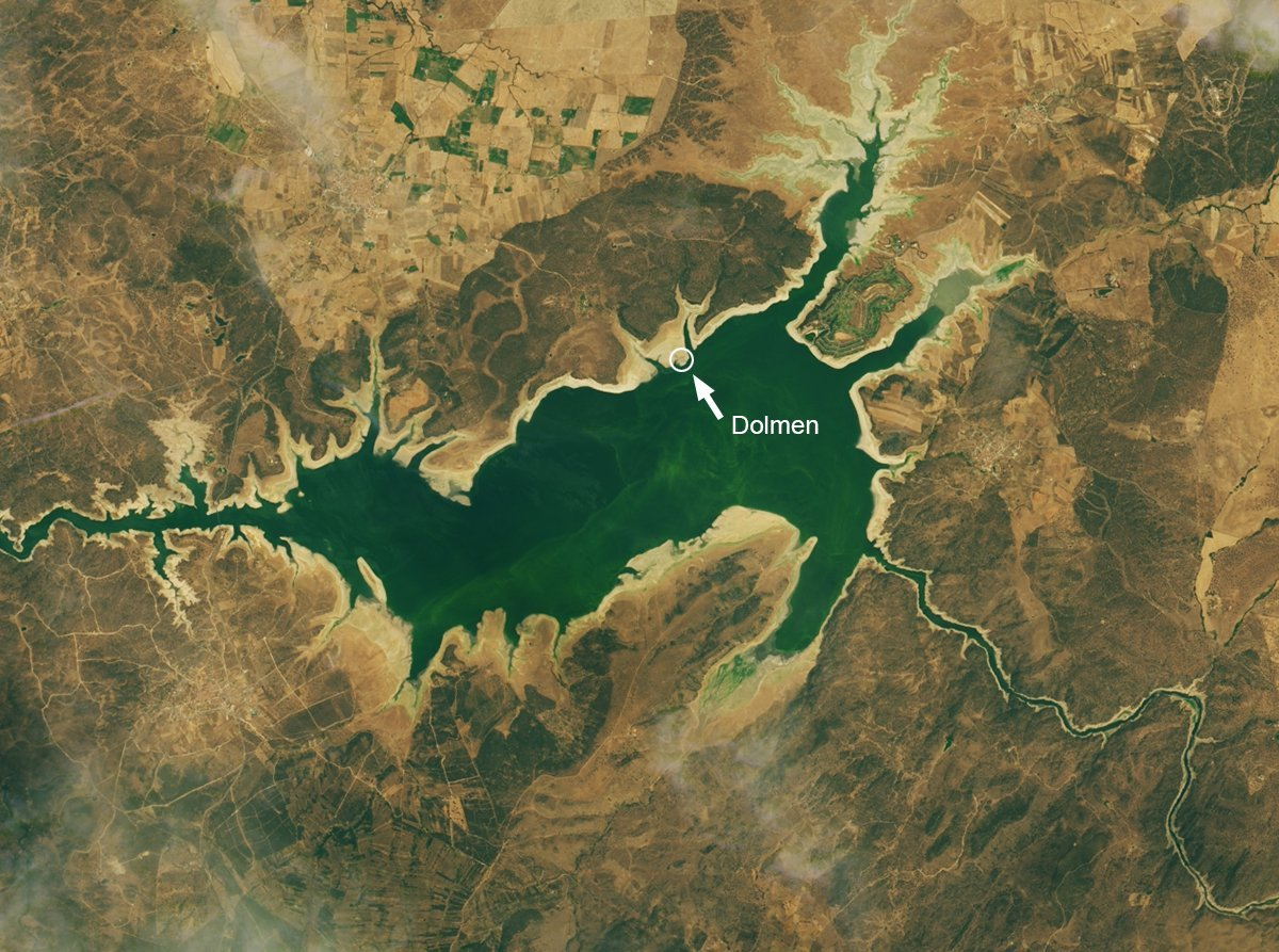 Valdecanas-Reservoir