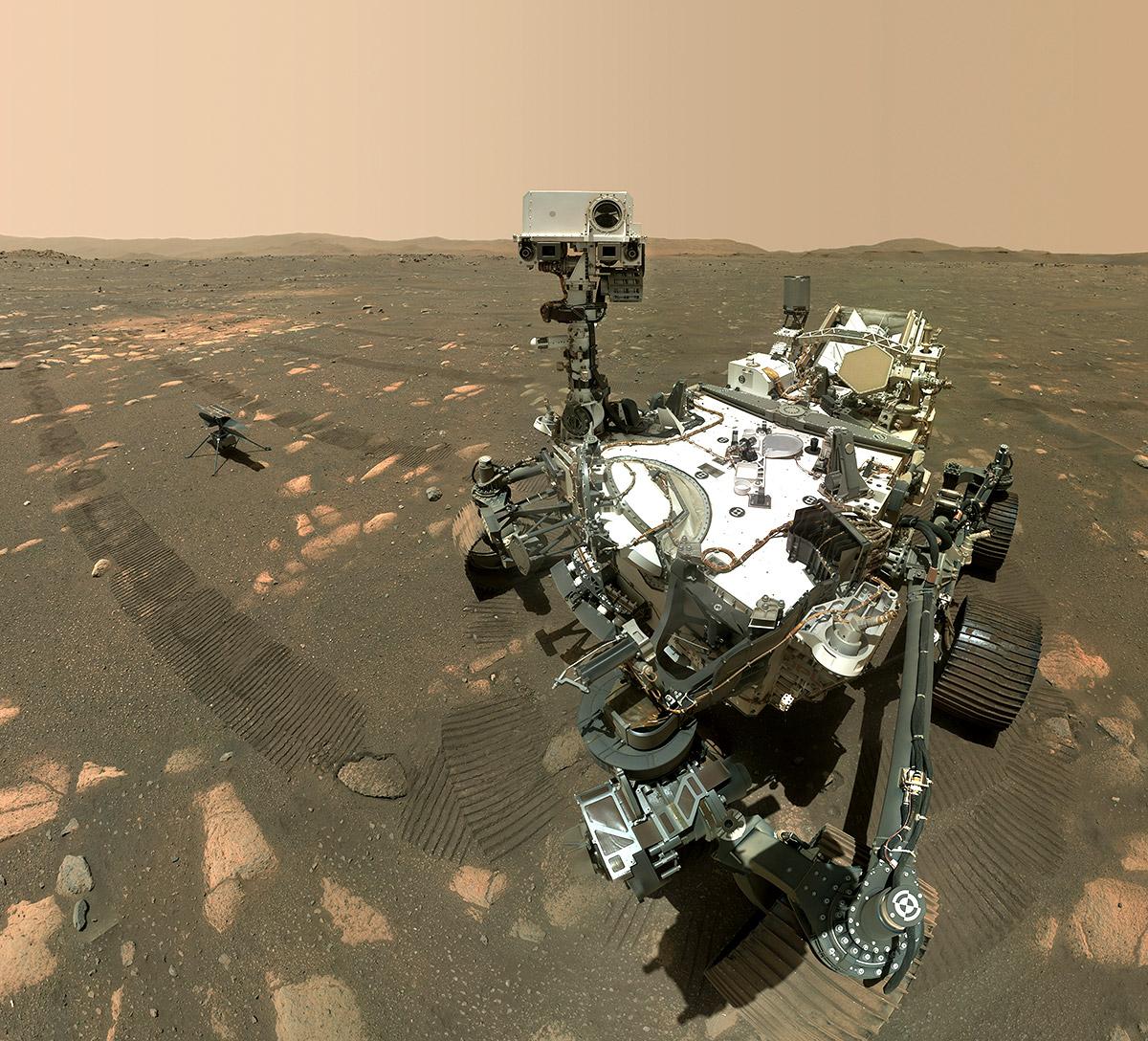 Rover-Selfie-mit-Mars-Hubschrauber