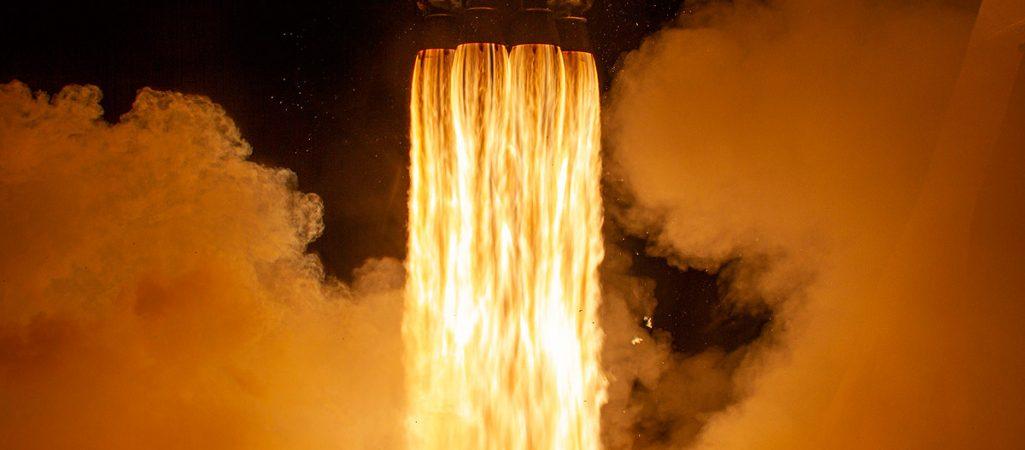 Raketenschub