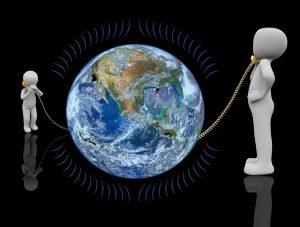 Symboldbild weltweite Kommunikation