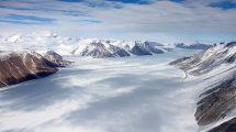 Ferrar Gletscher