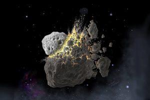 Asteroidenkollision