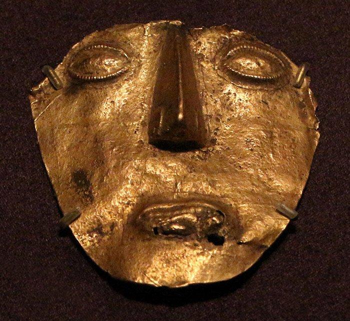 Muisca-Maske
