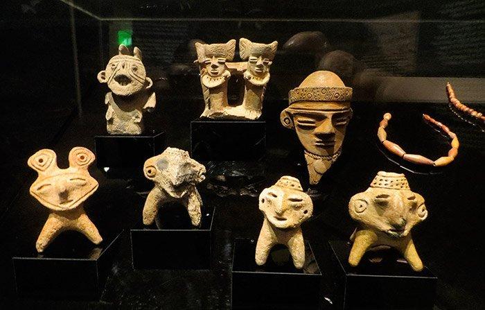 Funde aus der Laguna de Guatavita