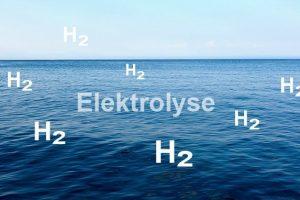 Wasserstoff aus dem Meer